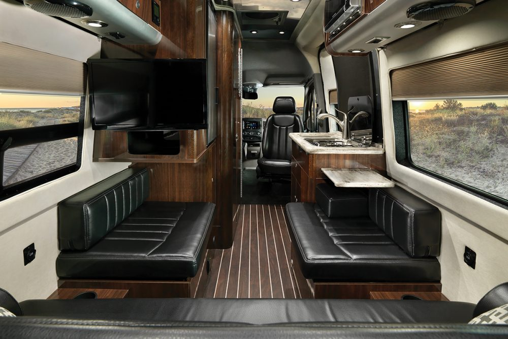 Airstream Interstate Nineteen 19 Foot Touring Coach Interior