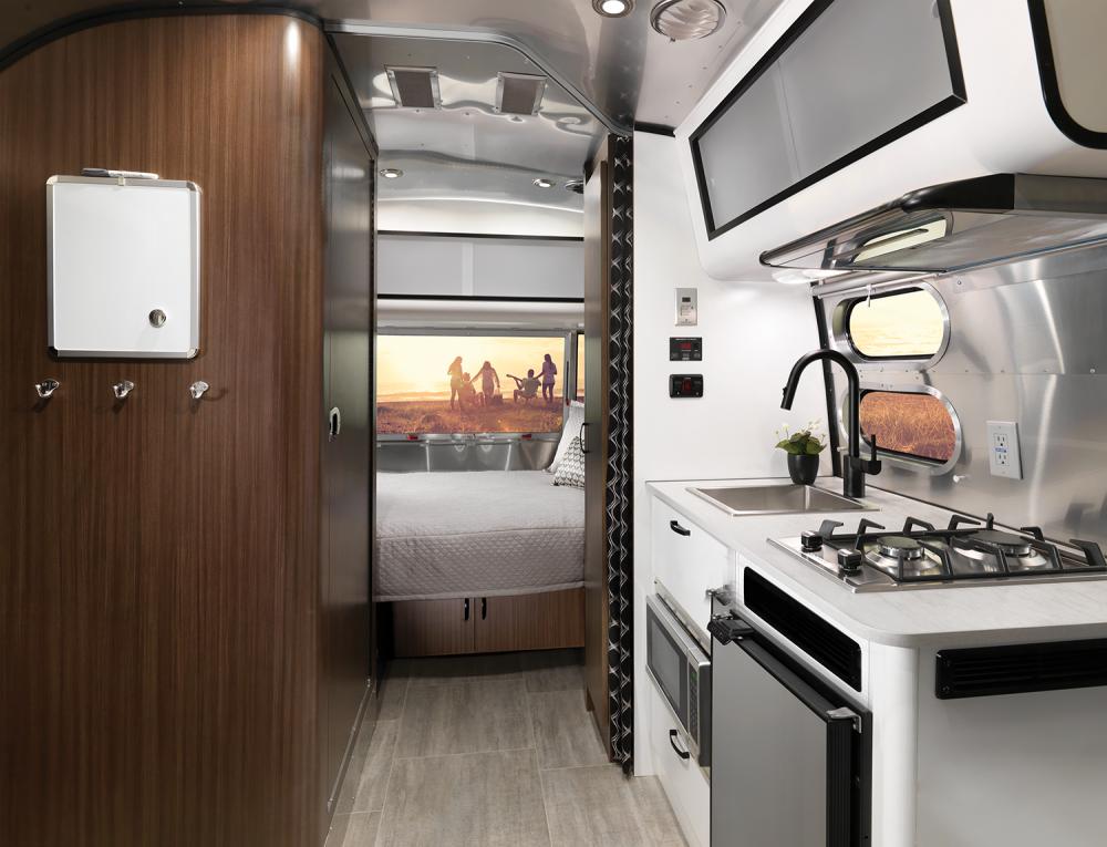 Airstream Caravel Travel Trailer Galley Interior