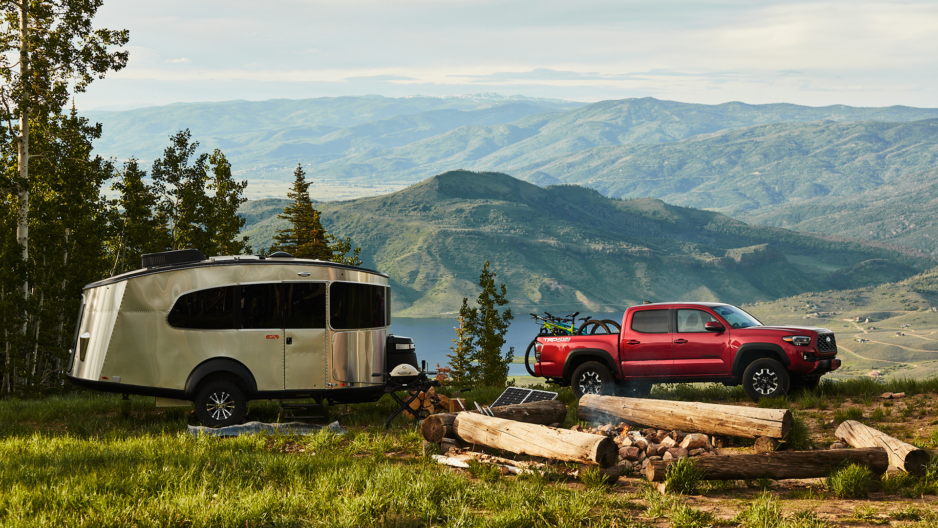 Airstream Basecamp 20X Lifestyle on Mountain
